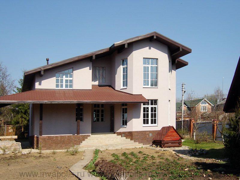 реконструкция дома ЛАНДЫШ по готовому фундаменту