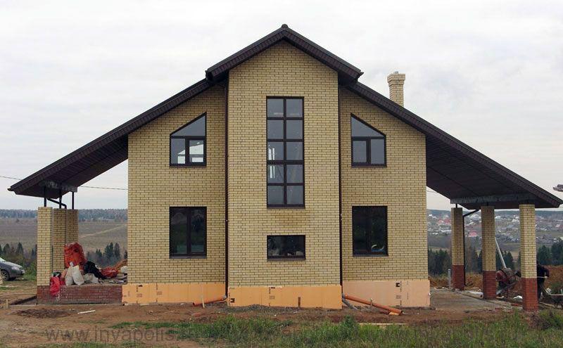 завершение строительства дома СВЕТЛЫЙ