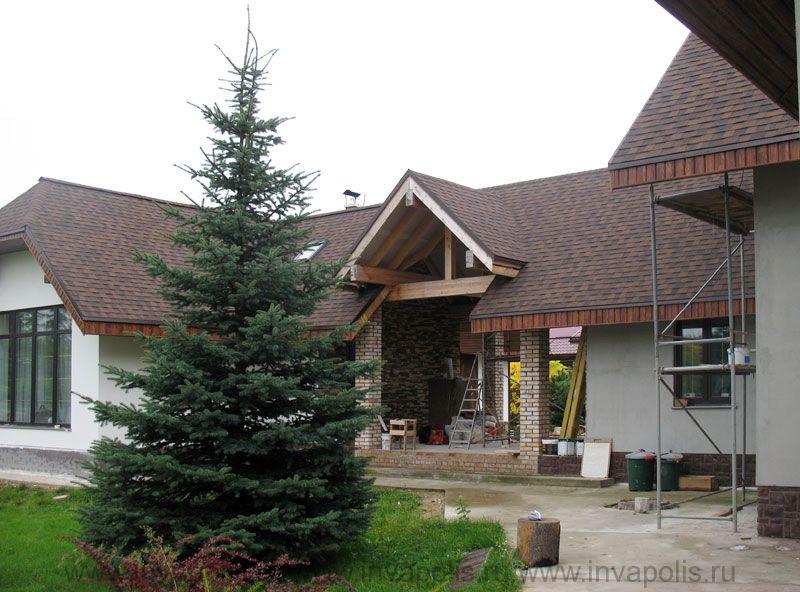 завершение реконструкции дома в ЗАВЬЯЛОВО