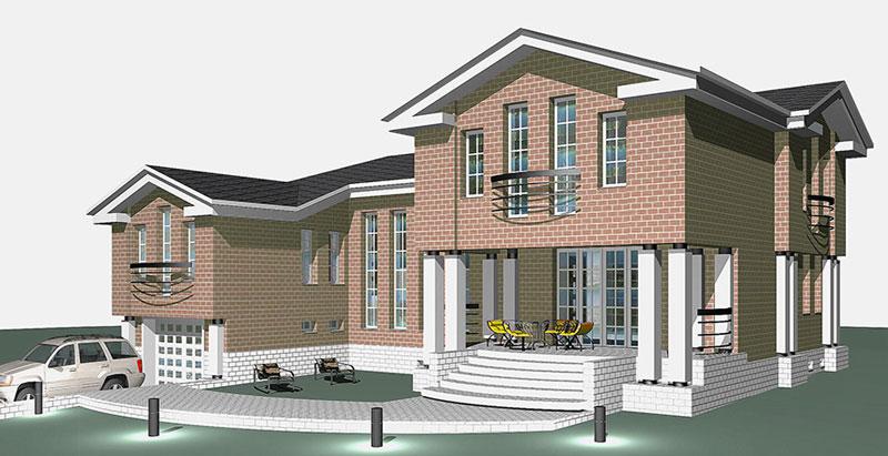 Предложение архитектора, в итоге выбранное Заказчиком, и принятое в дальнейшую разработку