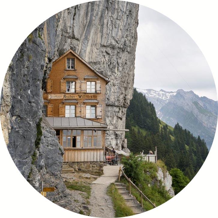 Купить проект дома на склоне