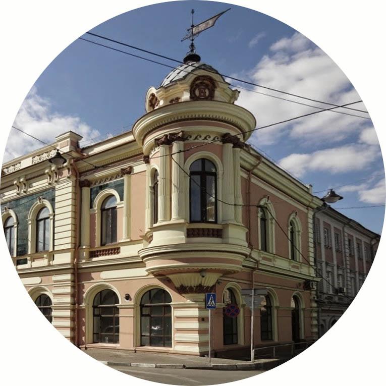 Проект двухэтажного дома подходит для города и поместья - дом Бугрова в Нижнем Новгороде