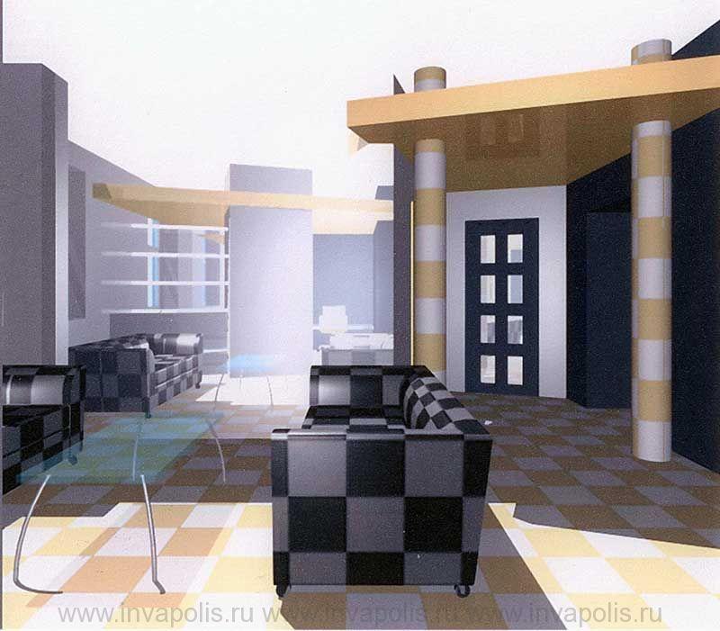Диванная в семикомнатной квартире НА МАРШАЛА БИРЮЗОВА