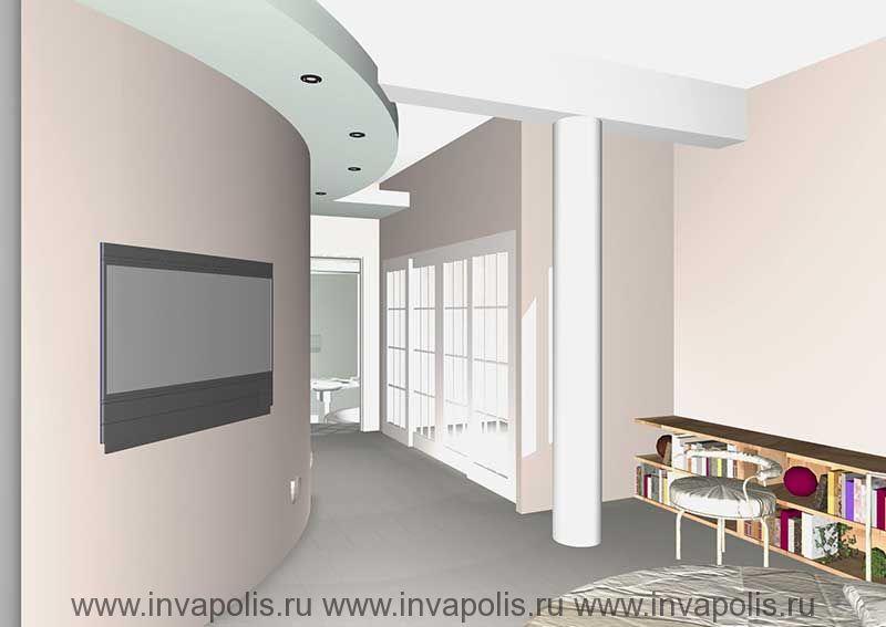 Встроенная гардеробная. Проект интерьеров особняка В СТУПИНО