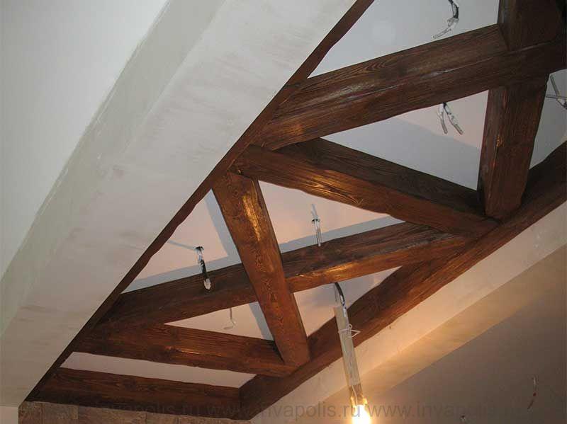 Конструкции несущих балок в интерьерах реконструированного особняка НА НОВОРИЖСКОМ