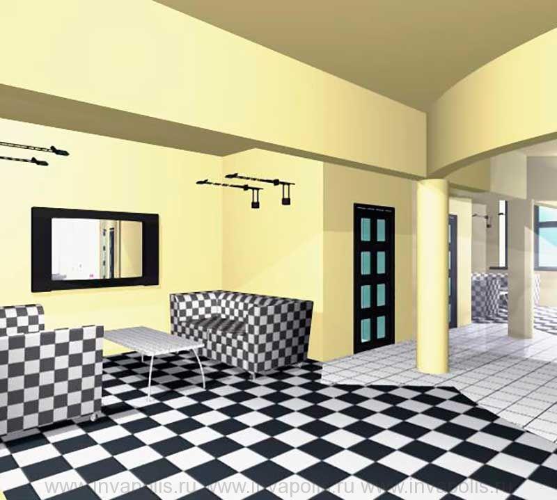 Конструкции несущих балок и колонн в интерьерах квартиры В ОСТАНКИНО