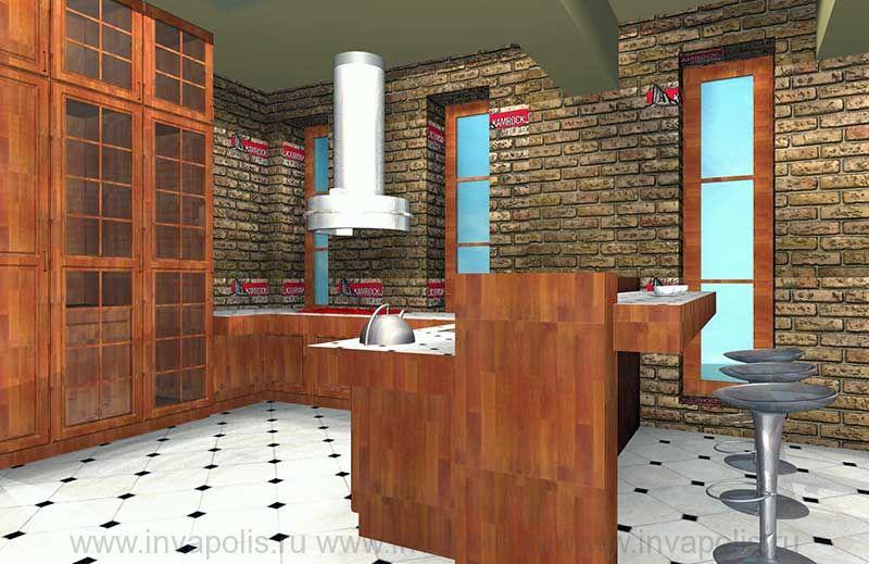 Кухня в интерьерах особняка ГИЛЬДИЯ