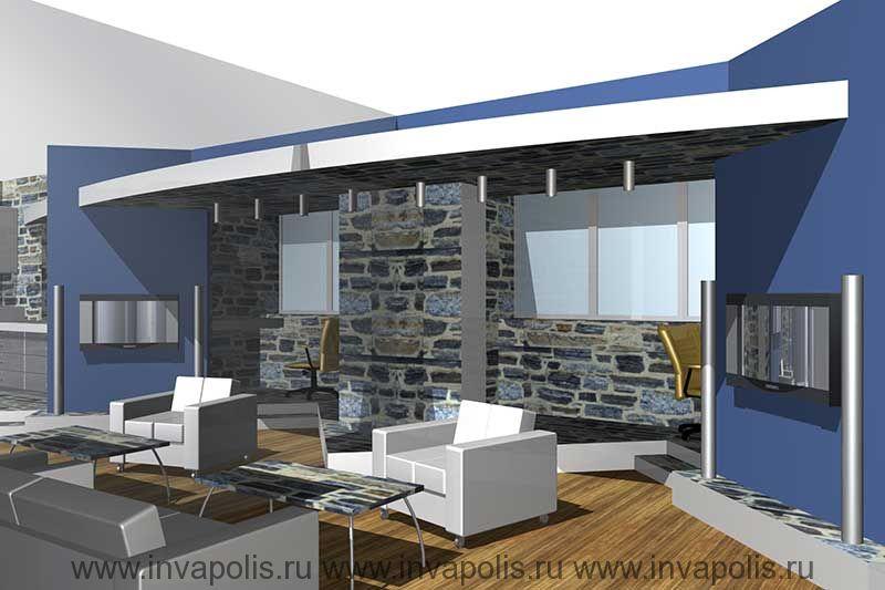 Зекальная стенка для увеличения пространства диванной в интерьерах типовой квартиры