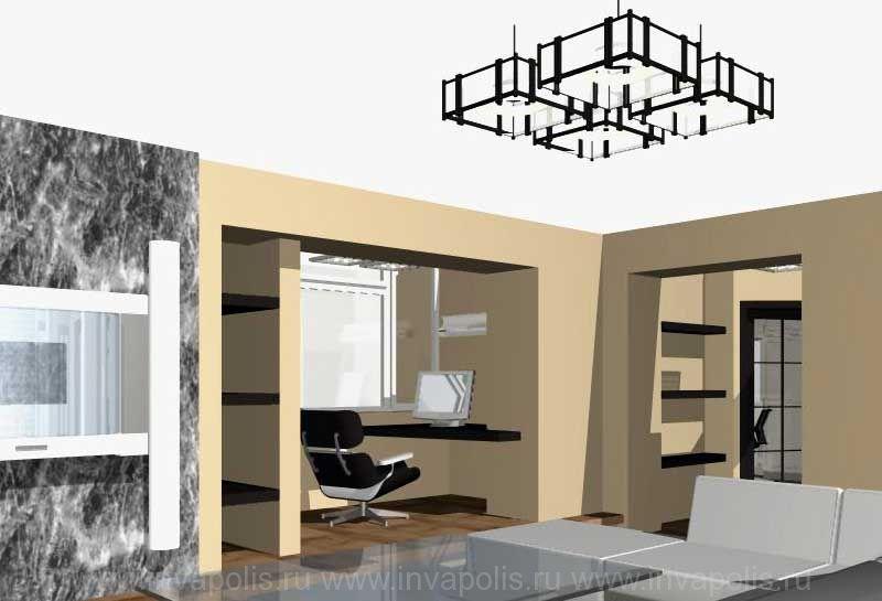Дизайн проекты интерьеров квартир