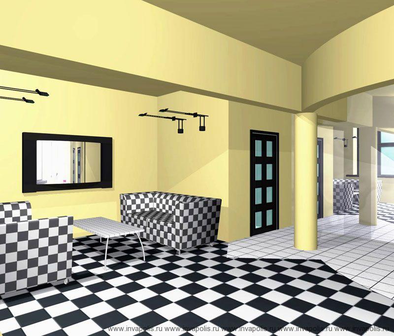 Жилье и офис в типовой квартире