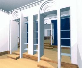 интерьеры квартиры в КРЫЛАТСКОМ
