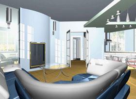 интерьеры жилого дома «КОМФОРТ»