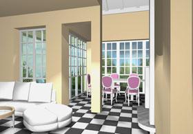 интерьеры жилого дома  «КРОХА»