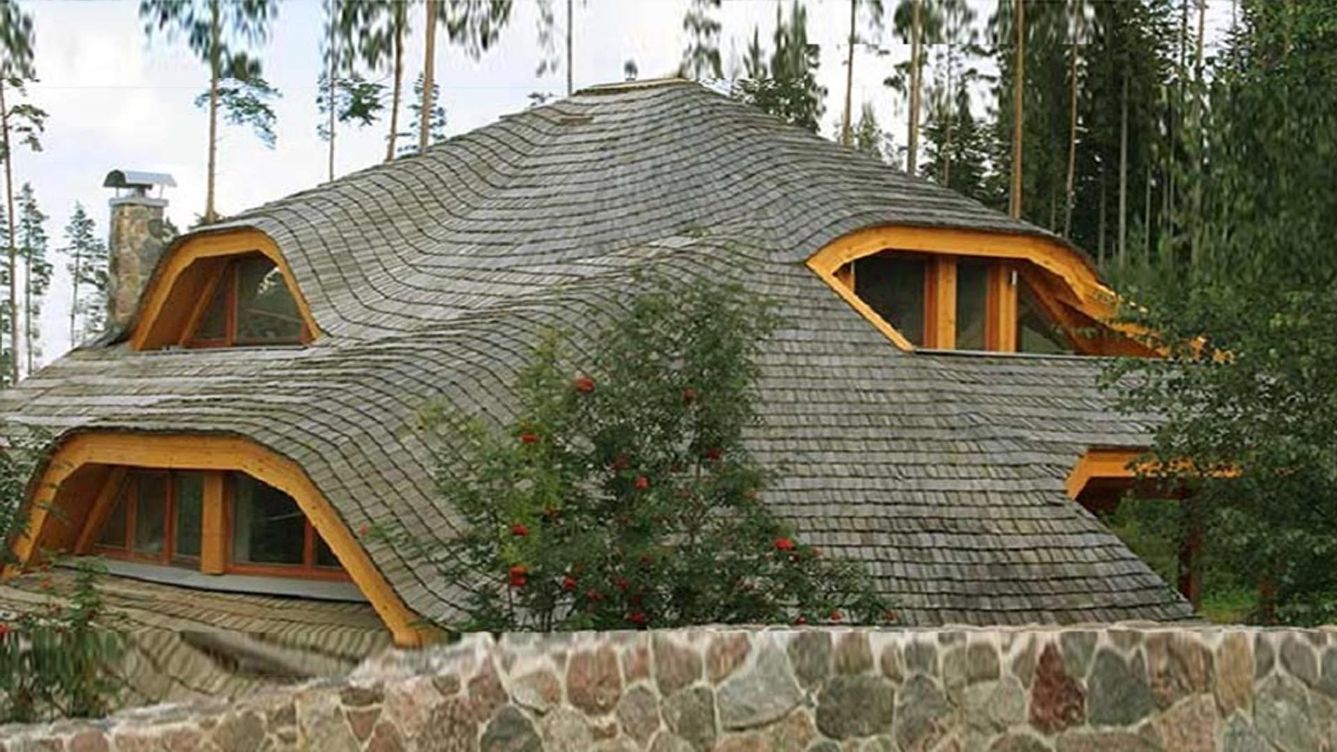 дом - крыша