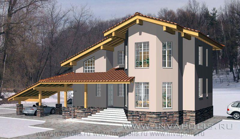 1.Реконструкция надстройкой этажей по готовому фундаменту. Жилой дом ЛАНДЫШ
