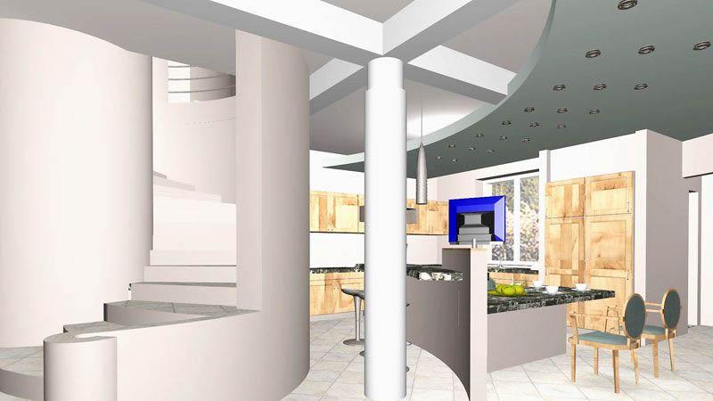 18а.Реконструкция перепланировкой. Дизайн-проект интерьеров коттеджа в Ступино