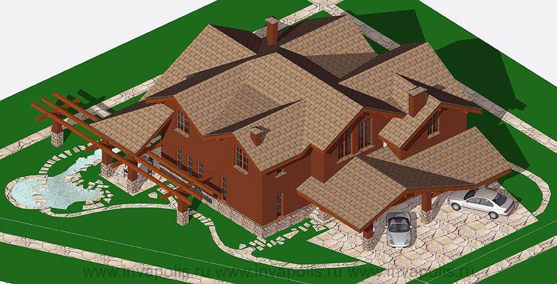 3.Реконструкция надстройкой этажей по готовым фундаментам. Жилой дом ГИЛЬДИЯ