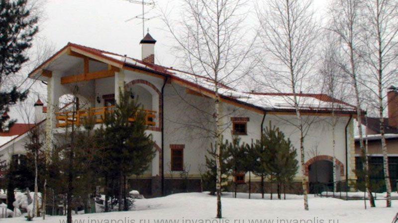 4.Реконструкция стилизацией и надстройкой мансардного этажа. Гостевой дом РЕЛАКС