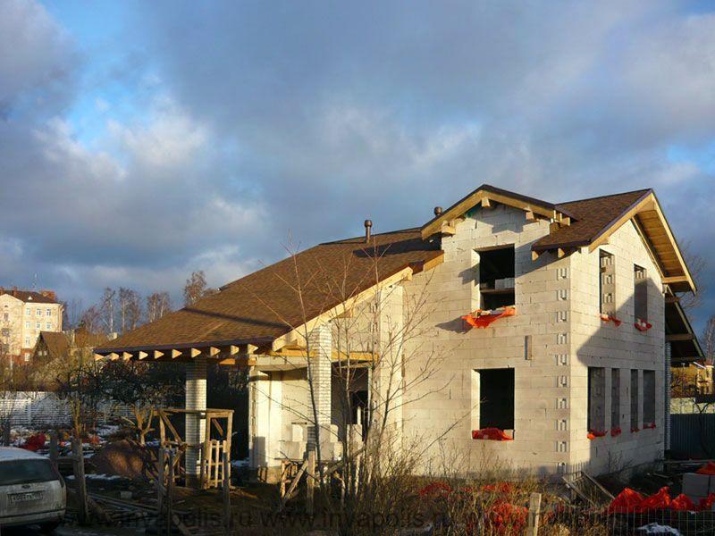 ДО перестройки площадь дома в Ступино 115м2.