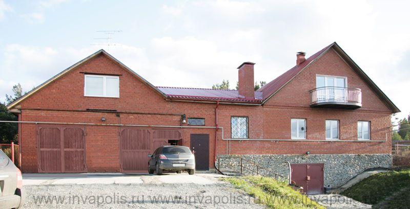 ДО реконструкции – тривиальная типовая внешность дома в Мансурово.