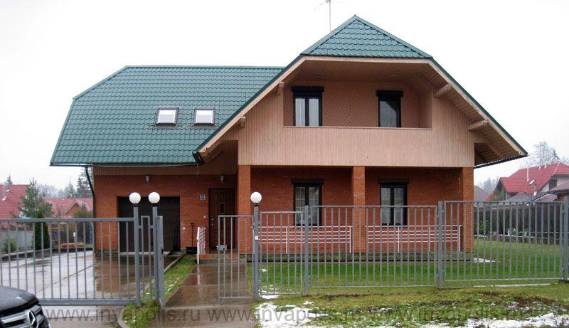 ДО реконструкции площадь коттеджа в Красногорском р-не 200м2.