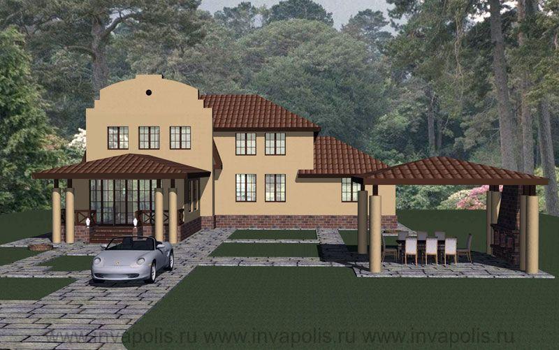 ПОСЛЕ реконструкции дом увеличен на 120м2