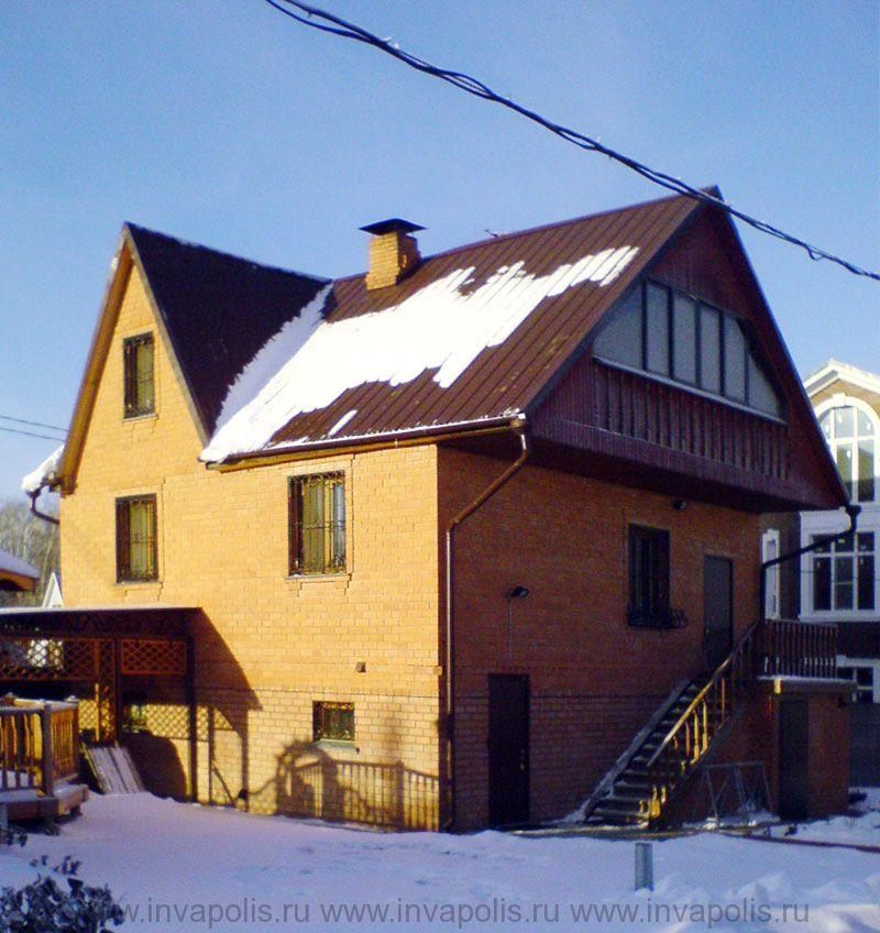 ДО реконструкции площадь старого типового дома в Домодедовском районе 120м2.