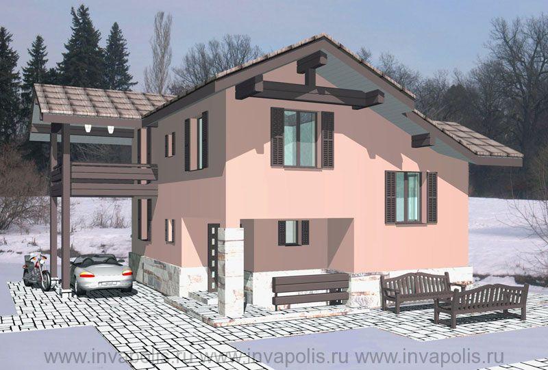 ДО перестройки площадь дома 80м2 в Конаково 100м2