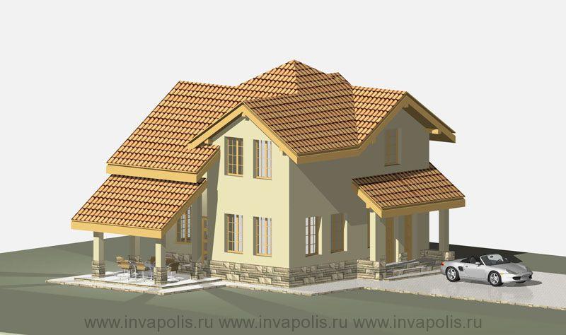 Стилевая основа проекта усадьбы -жилой дом КОМФОРТ